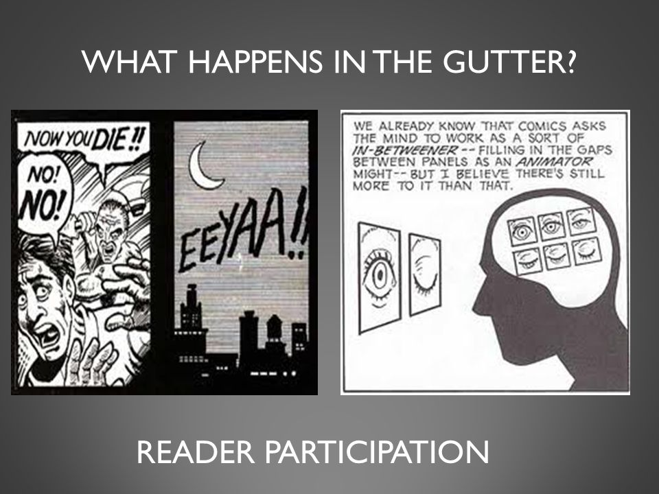 WHAT HAPPENS IN THE GUTTER READER PARTICIPATION