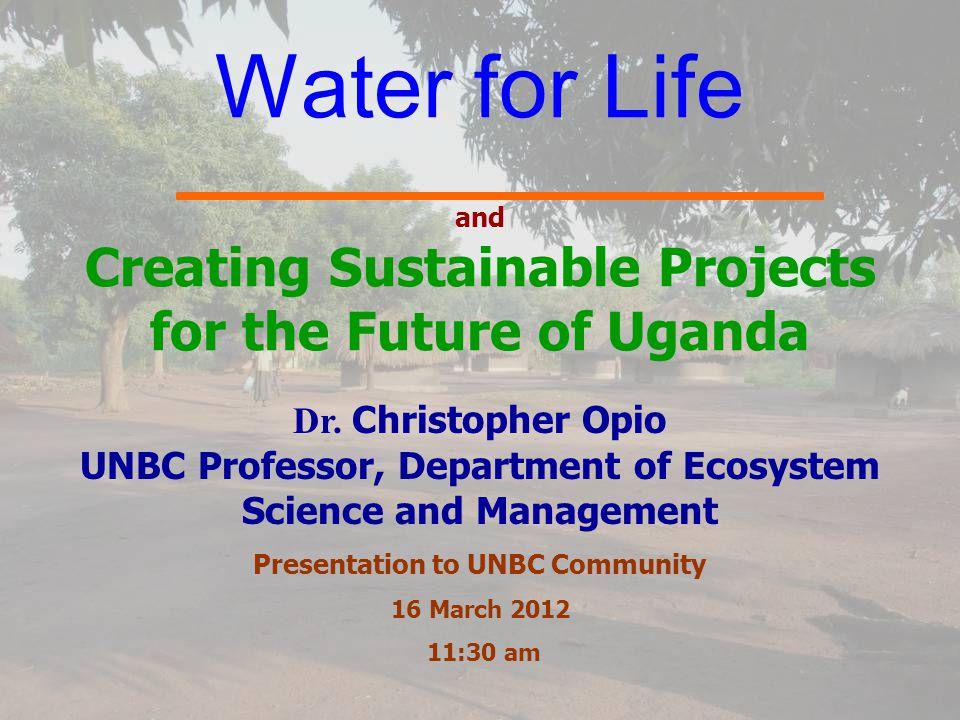 Outline Introduction to Uganda Introduction to Uganda Accomplishments of NUDF in Uganda in 2011 Accomplishments of NUDF in Uganda in 2011 Conclusion Conclusion Acknowledgements Acknowledgements