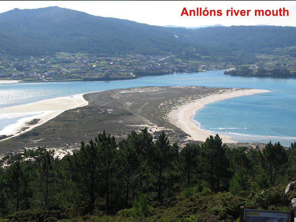 Anllóns river mouth