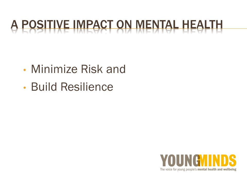 Minimize Risk and Build Resilience