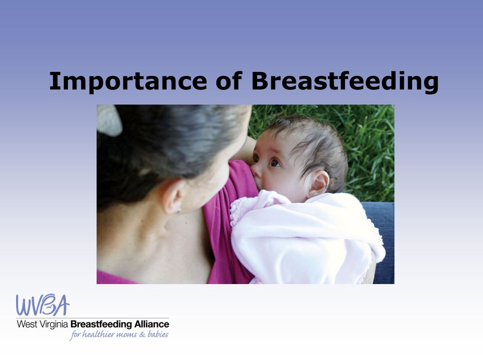 Importance of Breastfeeding