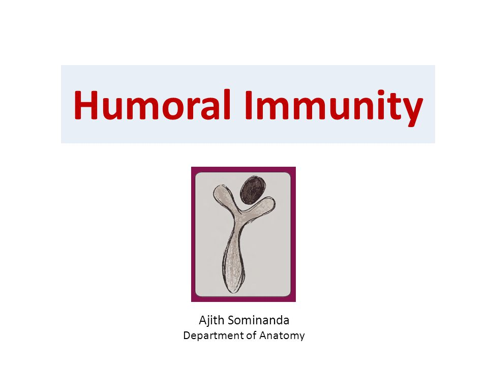 The need of a humoral immunity Microorganisms multiply in the fluid compartments i.e.