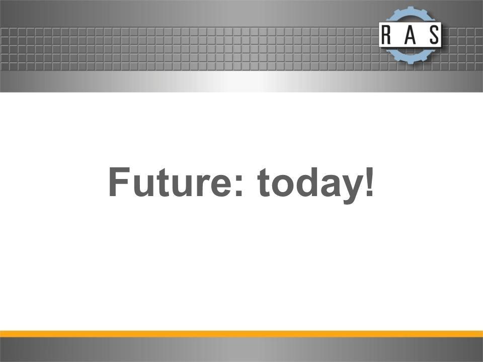 Future: today!