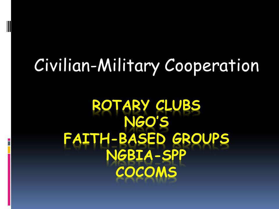 Civilian-Military Cooperation