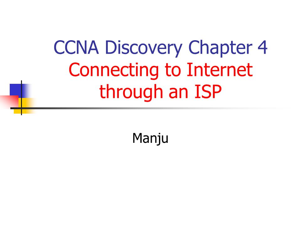 How ISPs Handle Packets Before being sent on the Internet, messages are divided into packets.