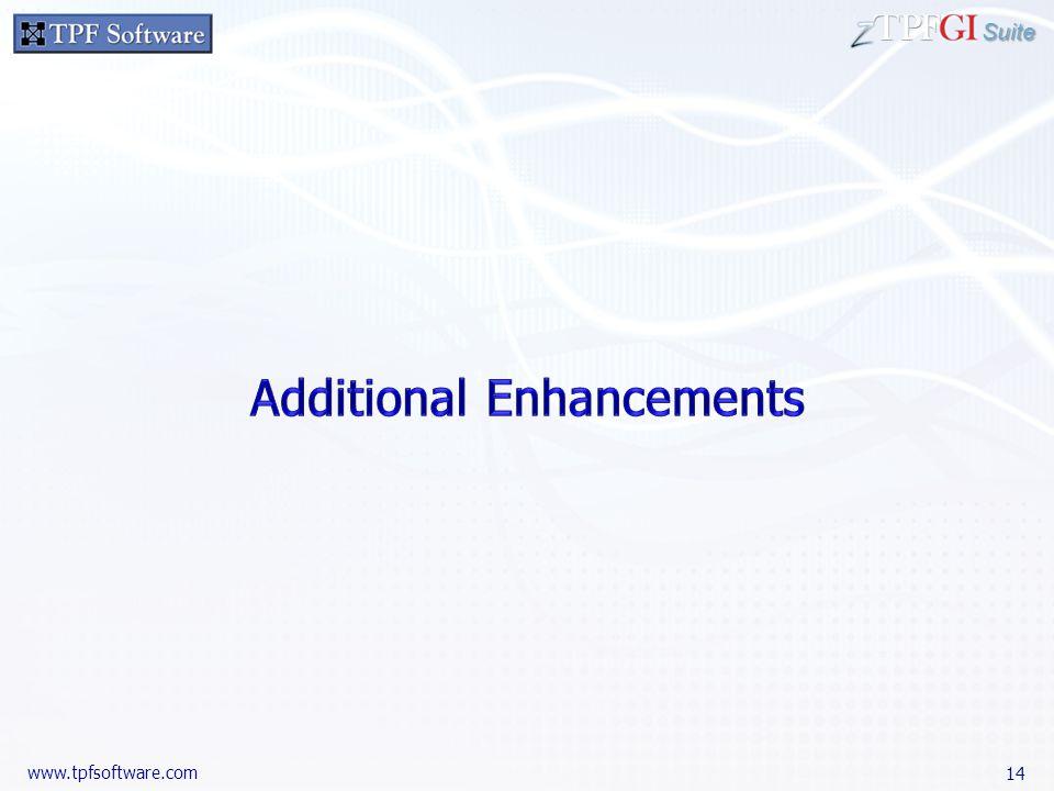 Suite www.tpfsoftware.com 14