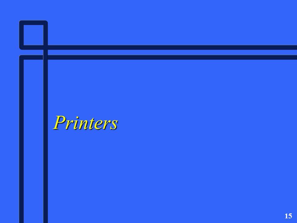 15 Printers