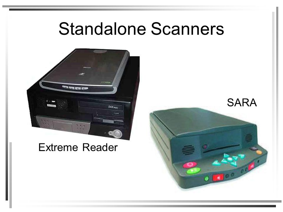 Standalone Scanners Extreme Reader SARA