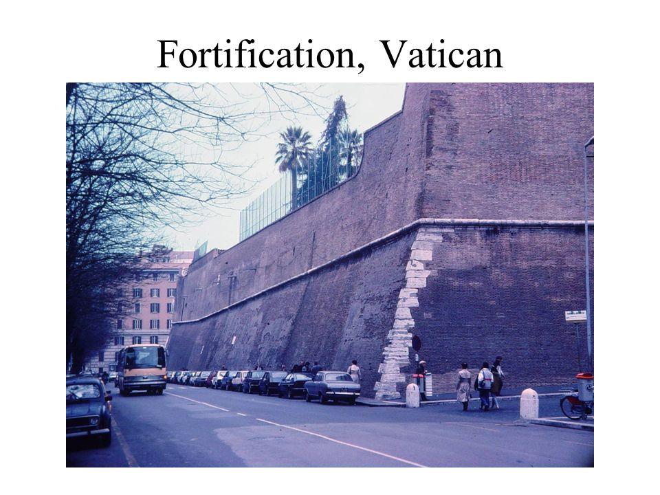 Fortification, Vatican