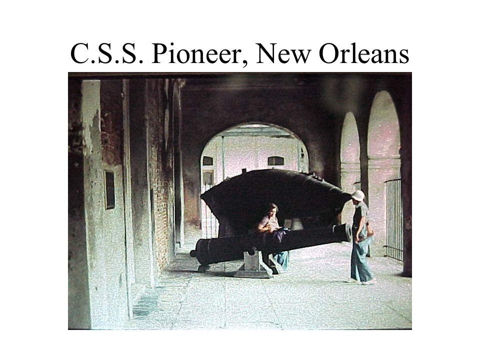 C.S.S. Pioneer, New Orleans
