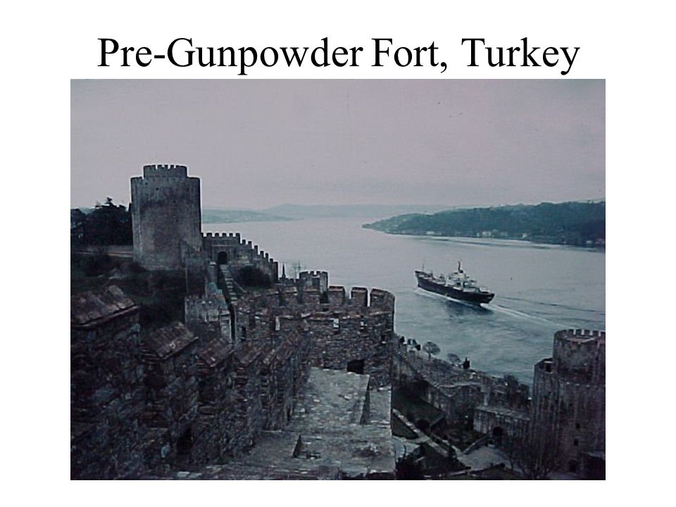 Pre-Gunpowder Fort, Turkey
