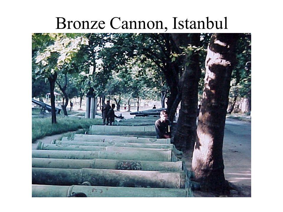 Bronze Cannon, Istanbul