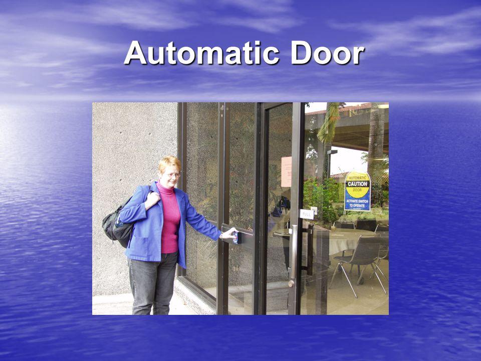 Automatic Door Automatic Door