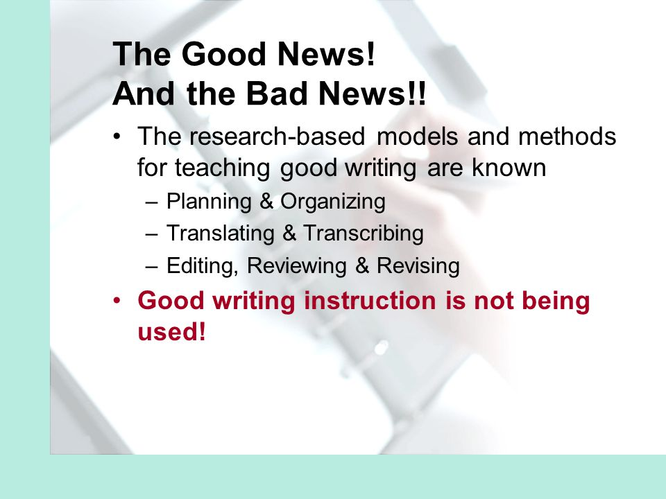 Summary recommendations Use spell checkers in conjunction with instruction in a proofreading strategy.