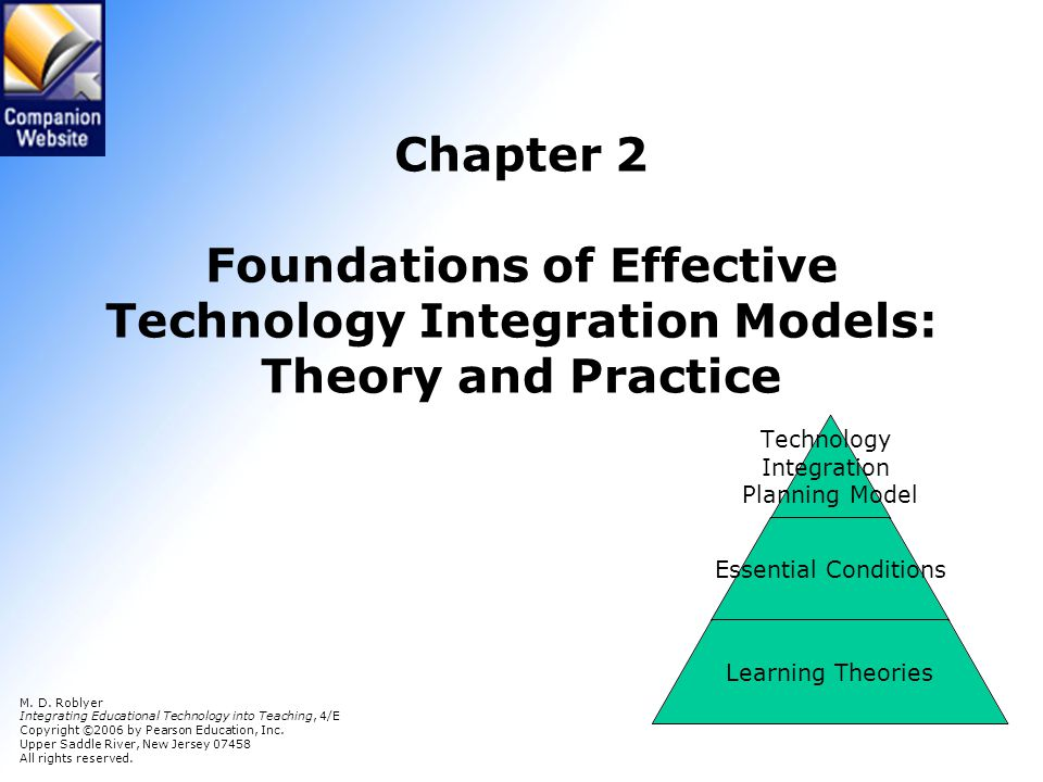 Phase 1 Determine relative advantage Technology Integration Planning (TIP) Phase 4: Prepare the instructional environment Are essential conditions in place to support technology integration.