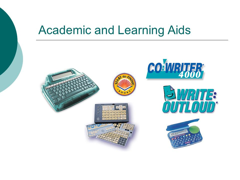 Academic and Learning Aids