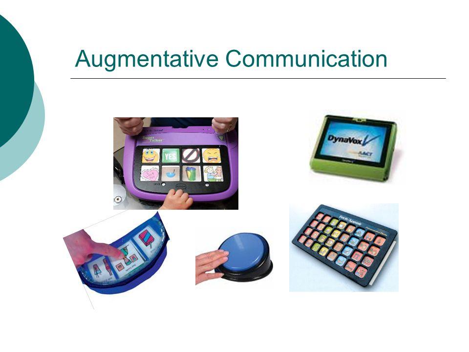 Augmentative Communication