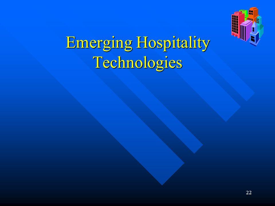 22 Emerging Hospitality Technologies
