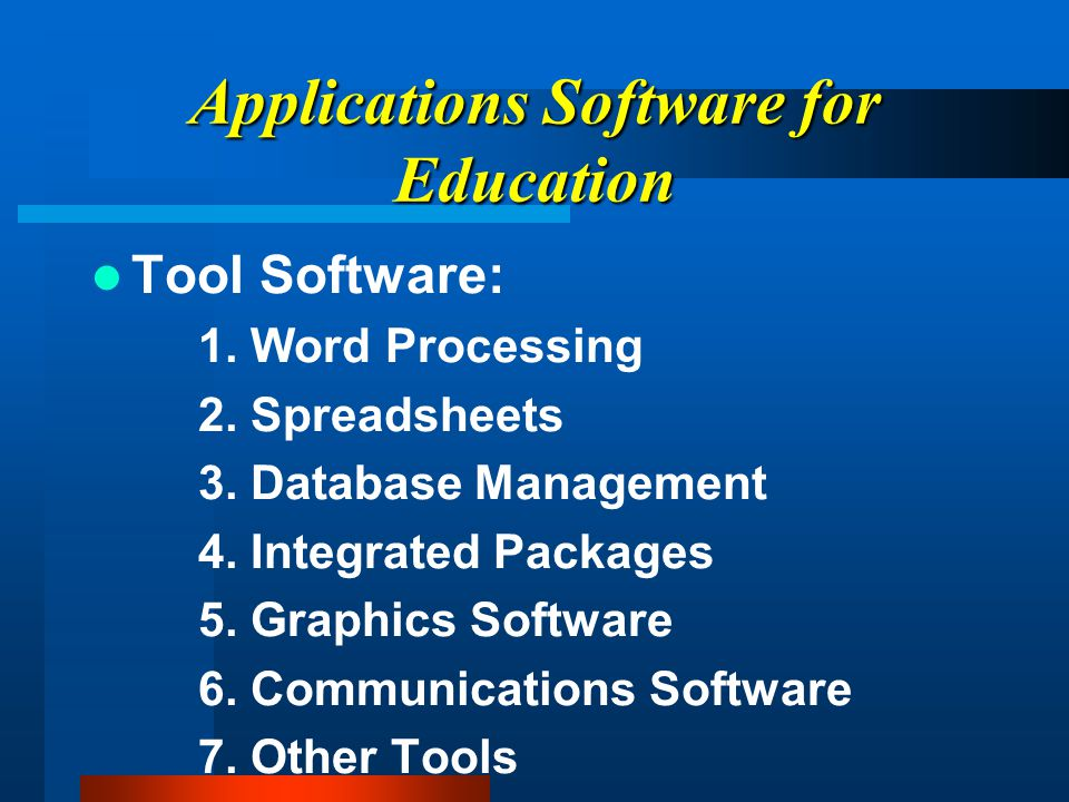 Systems Software (Types of Operating Systems) Unix Ms-DOS Apple Dos, ProDOS Macintosh DOS, System 7 Windows 95