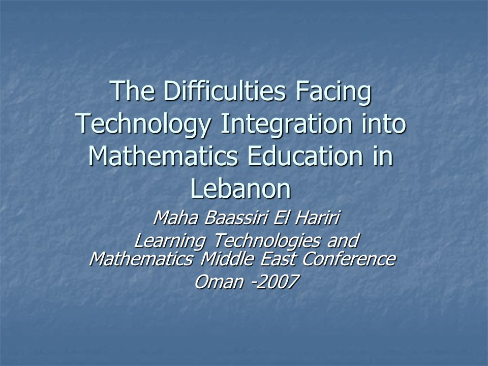 Conclusion Education technology is neither inherently effective nor inherently ineffective; instead, its degree of effectiveness depends upon the congruence among the goals of instruction, characteristics of the learners, design of the software, and educator training and decision- making, among other factors Education technology is neither inherently effective nor inherently ineffective; instead, its degree of effectiveness depends upon the congruence among the goals of instruction, characteristics of the learners, design of the software, and educator training and decision- making, among other factors ( Schneider M., SIIA, 2000) ( Schneider M., SIIA, 2000)