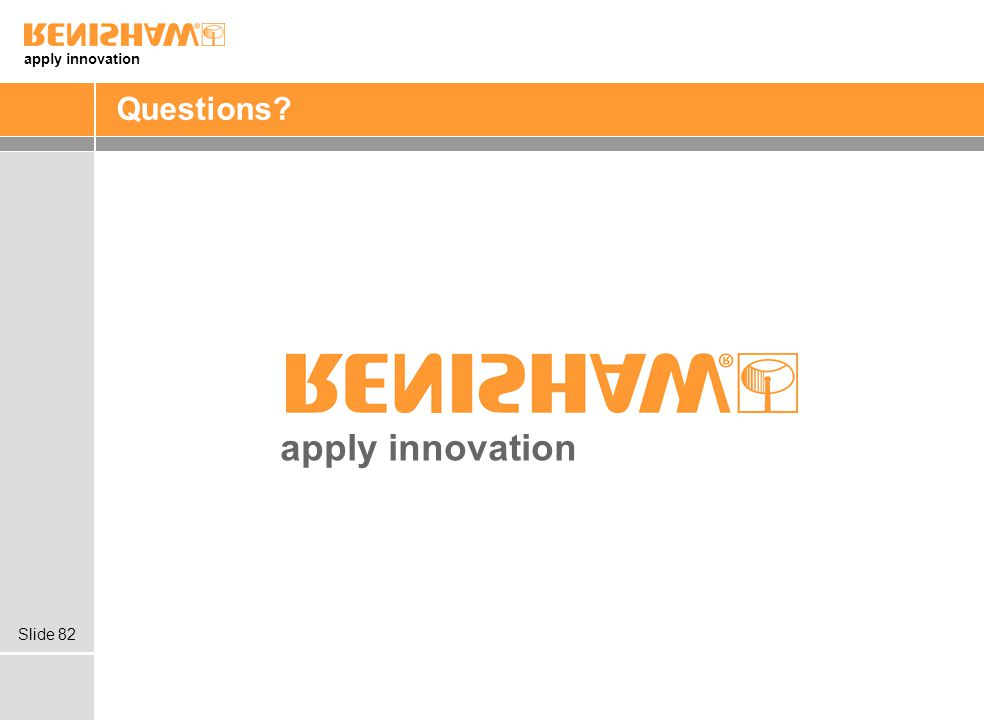 apply innovation Slide 82 Questions? apply innovation