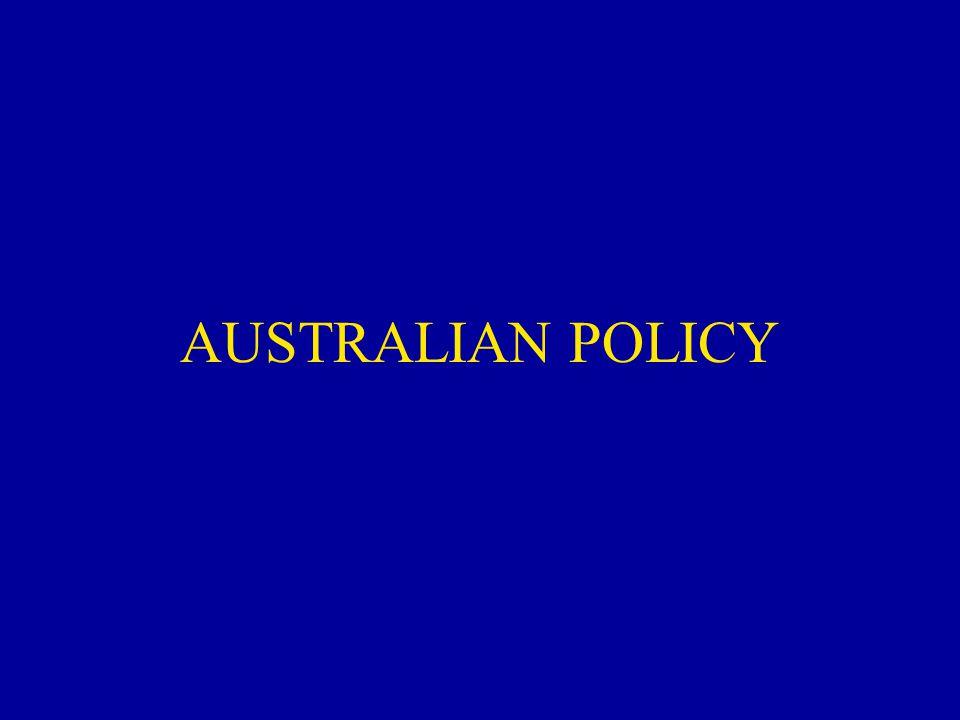 AUSTRALIAN POLICY