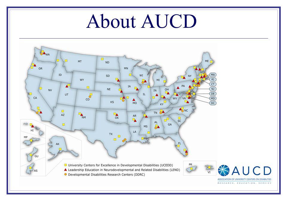 About AUCD