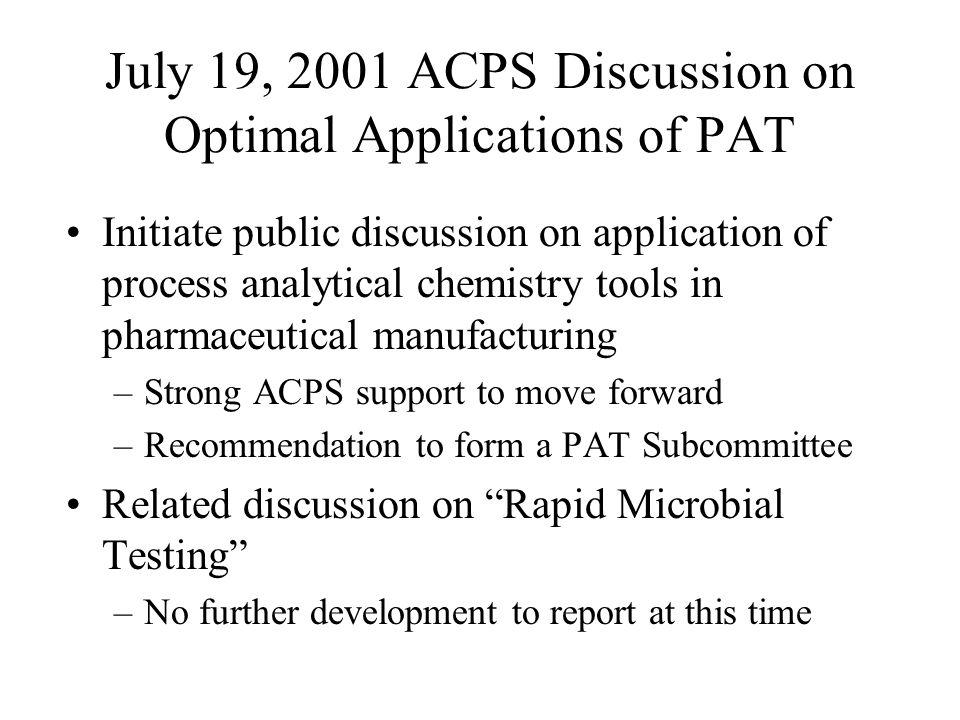 Parametric Release: Dissolution.