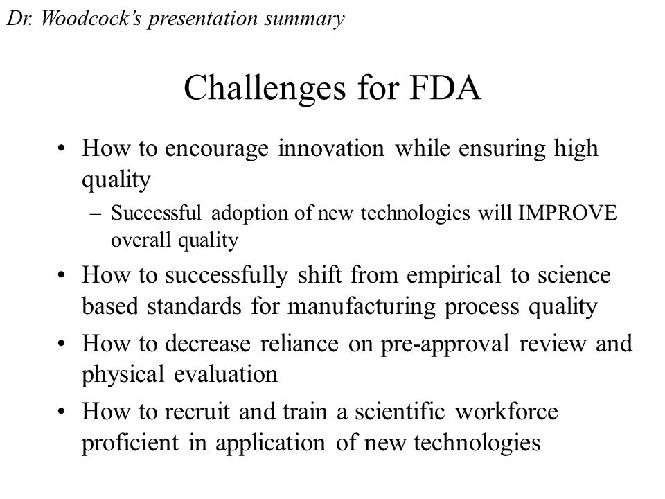 Questions for the Science Board Are you able to support the approach.