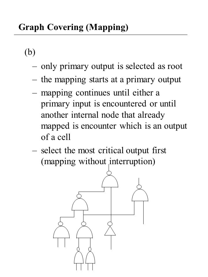 Technology Mapping for FPGA Some Features of the FPGA: (1) Configurable function units and interconnections.