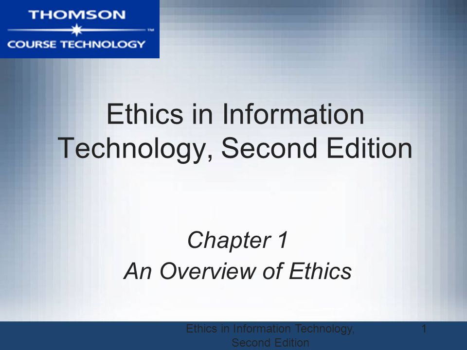 Ethics in Information Technology, Second Edition 12 Gaining the Goodwill of the Community Basic responsibilities to society –Declared in formal statement of companys principles or beliefs –Include: Making contributions to charitable organizations and nonprofit institutions Providing benefits for employees in excess of legal requirements Choosing economic opportunities that might be more socially desirable than profitable Book Page 8-9