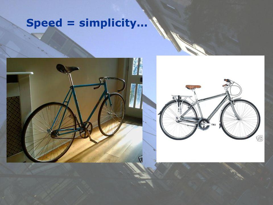 10 Speed = simplicity...