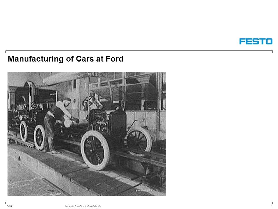DC-R/Copyright Festo Didactic GmbH&Co. KG Manufacturing of Cars at Ford 2