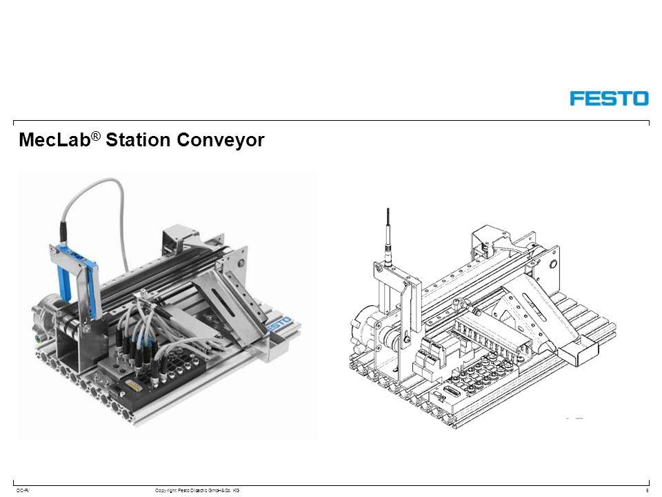 DC-R/Copyright Festo Didactic GmbH&Co. KG MecLab ® Station Conveyor 6