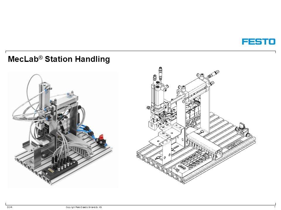 DC-R/Copyright Festo Didactic GmbH&Co. KG MecLab ® Station Handling 7
