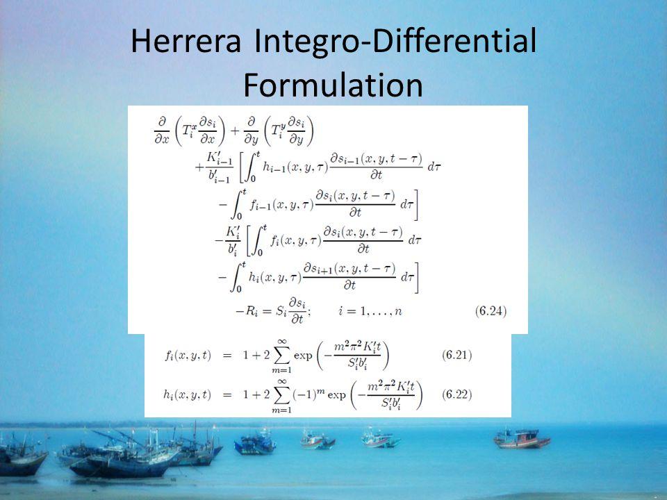 Herrera Integro-Differential Formulation