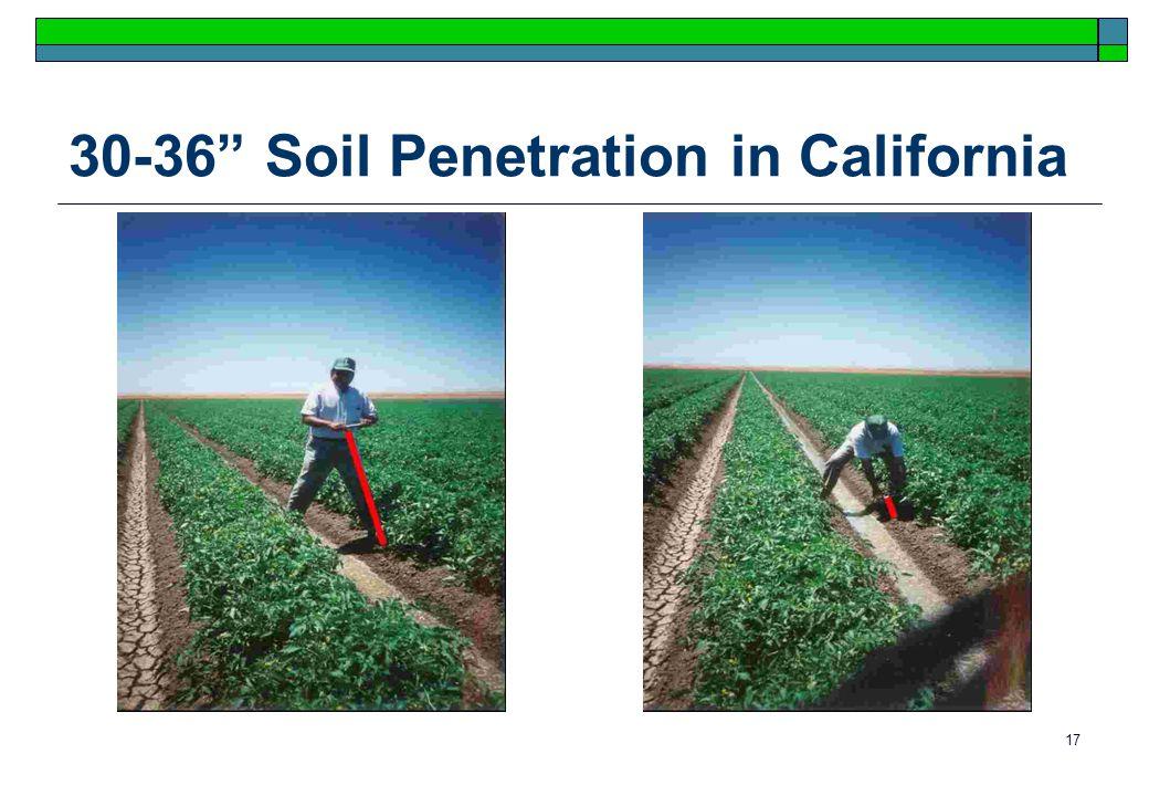 17 30-36 Soil Penetration in California