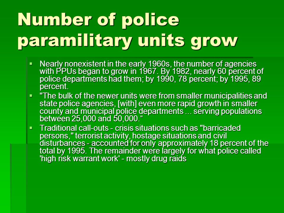 The Police and Hard Technology Federal, state, and local police have applied hard technology not only in the area of individual offender apprehension, but also in the area of community-level surveillance and control.