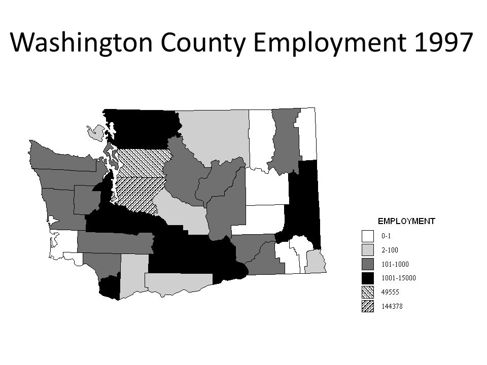 Washington County Employment 1997