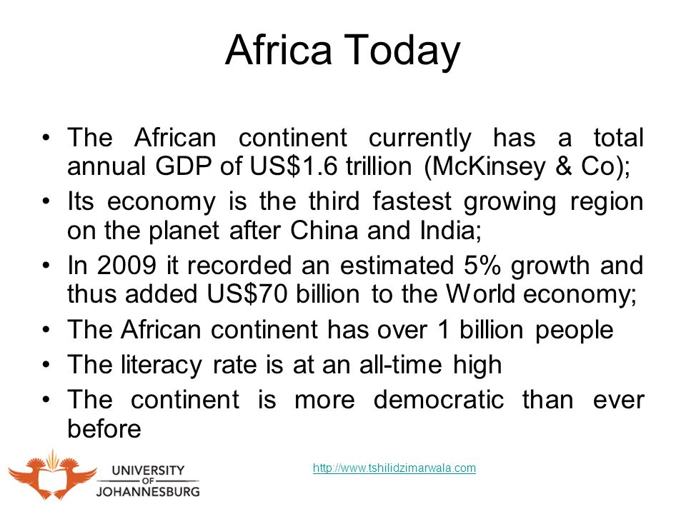 Africa in 30 Years Time Nigeria will become the largest economy in continent in less than 20 years time.
