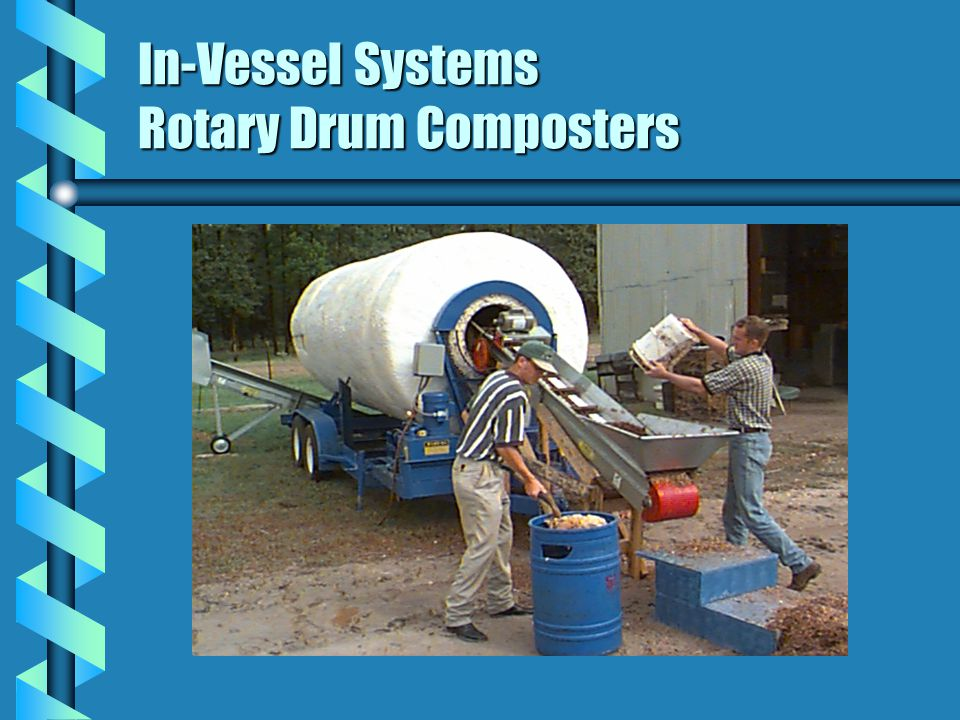 In-Vessel Systems Rotary Drum Composters