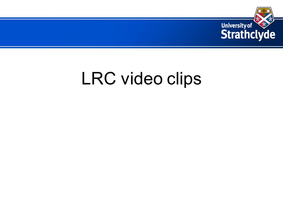 LRC video clips