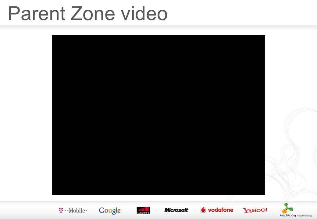 Parent Zone video