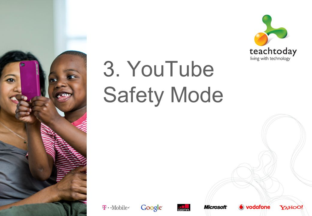 3. YouTube Safety Mode