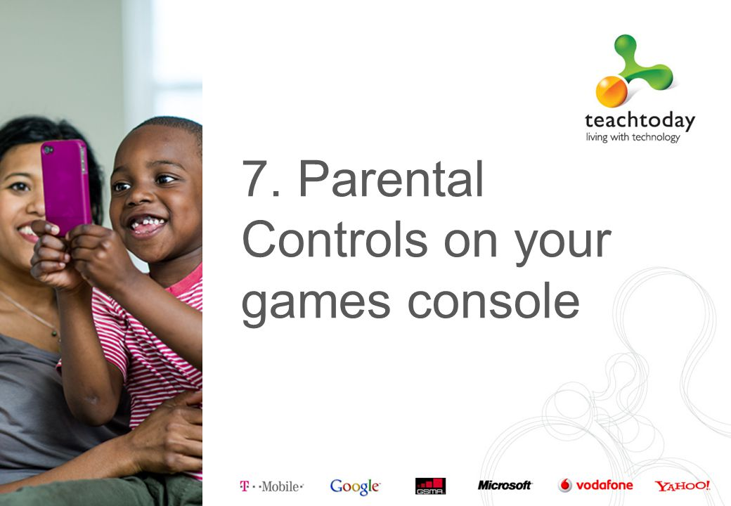 7. Parental Controls on your games console