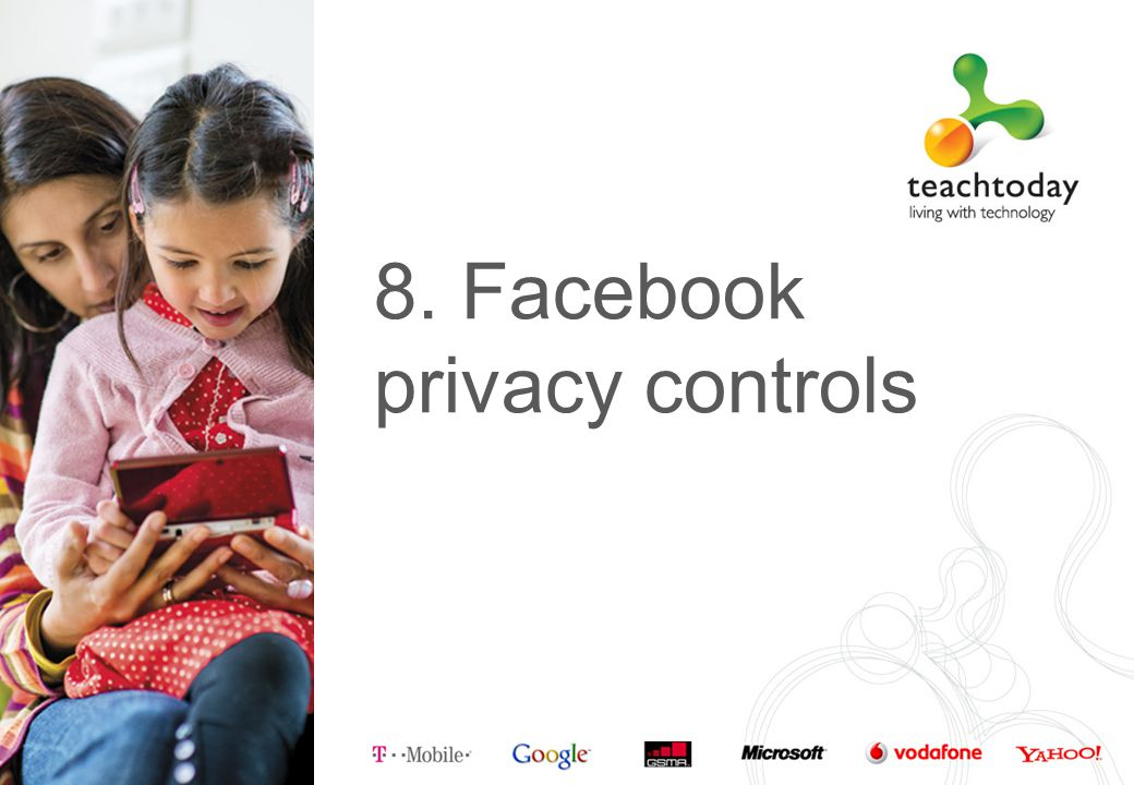 8. Facebook privacy controls