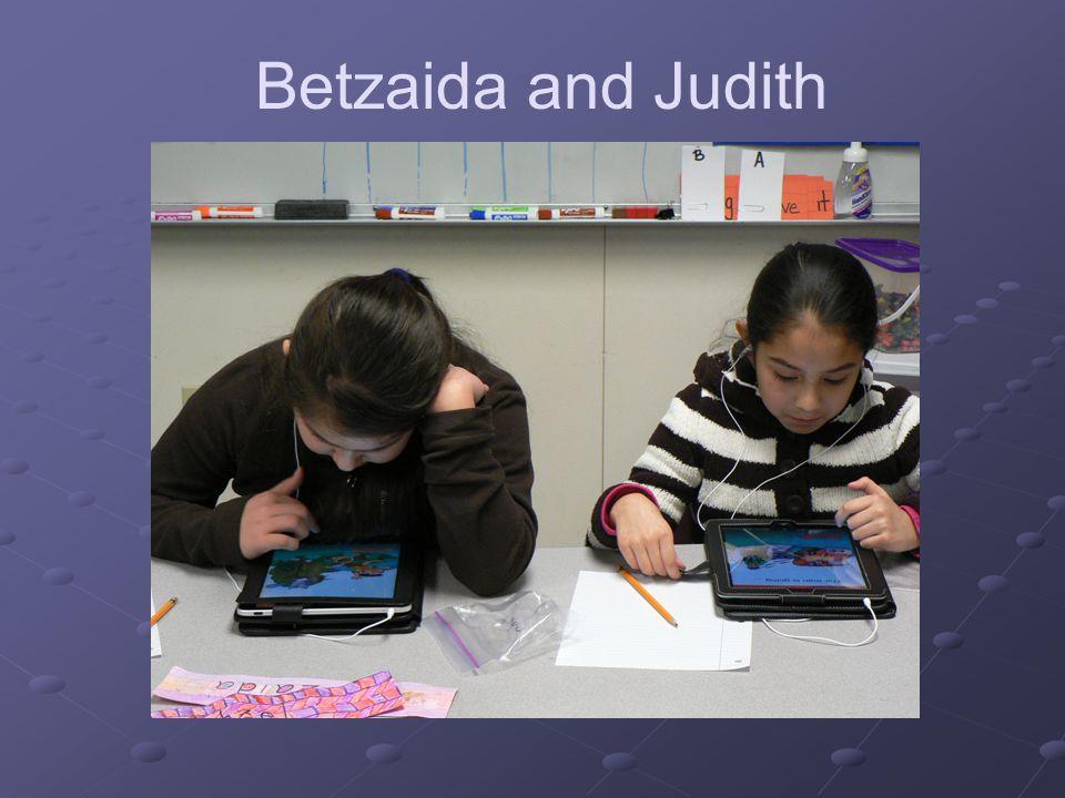 Betzaida and Judith