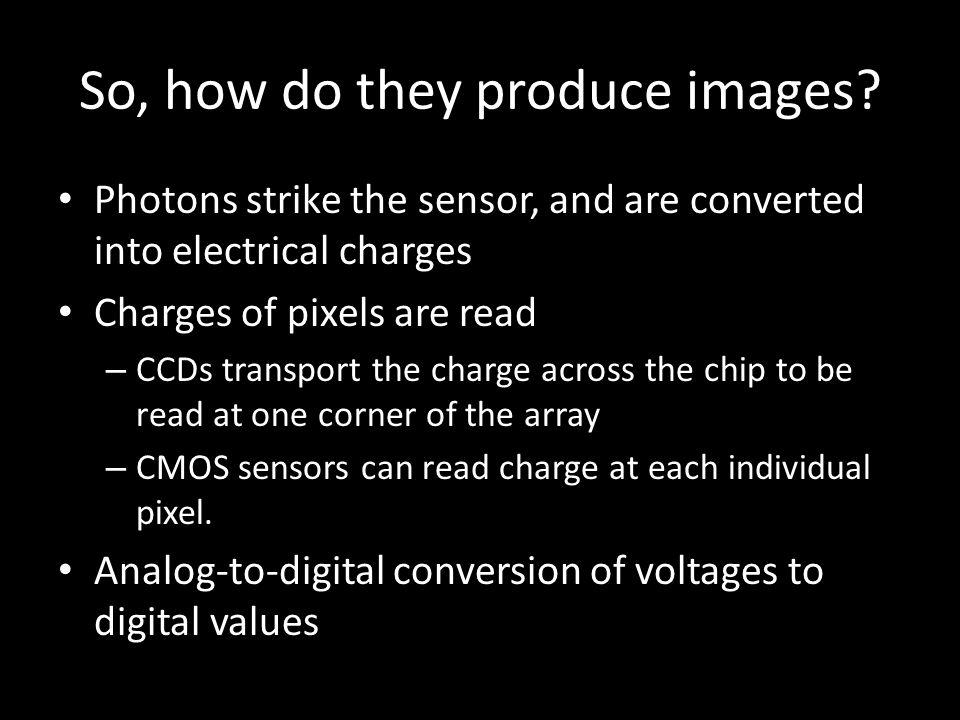Most consumer cameras utilize 8-bit pixels – Bit depth refers to a sensors sensitivity to greyscale depth.