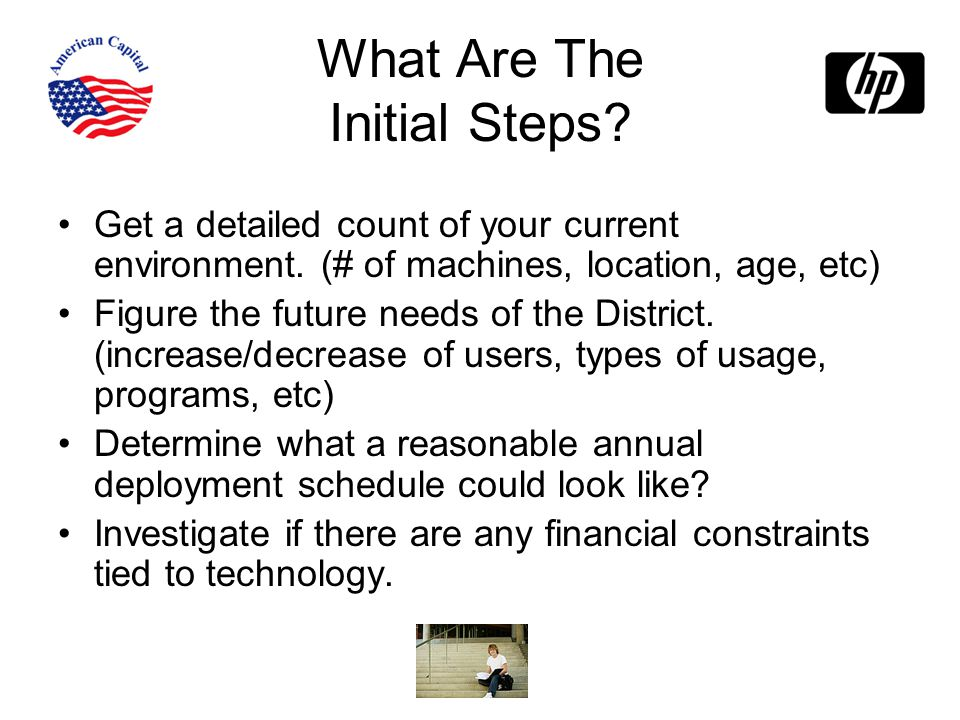 What Are The Initial Steps.