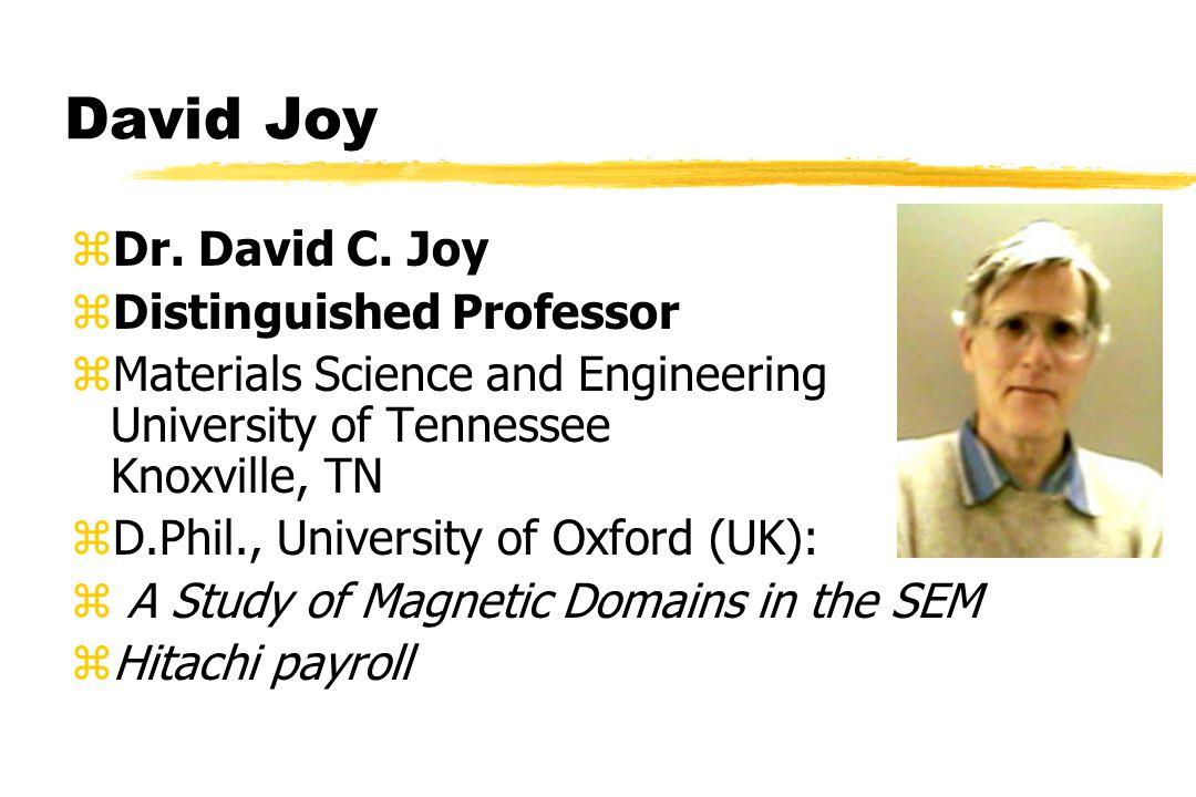 David Joy zDr. David C.